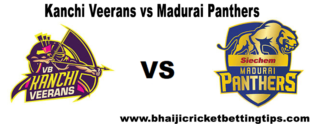 VB Kanchi Veerans vs Madurai Panthers, 15th Match